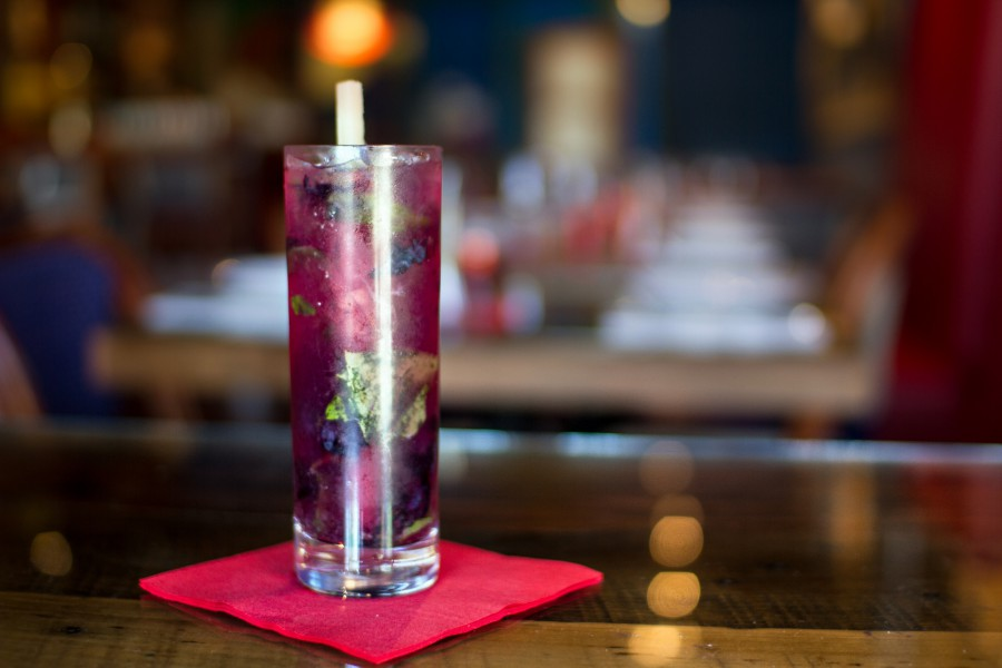 LEMON BLUEBERRY MOJITO